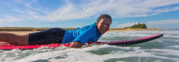 one on one surfing lesson 03